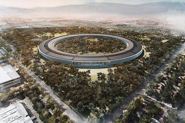 Apple's new spaceship headquarters to open