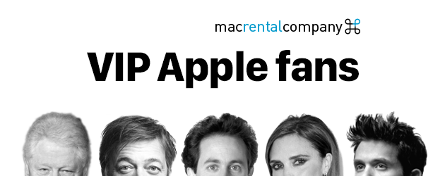 The most famous Apple fanboys of all time