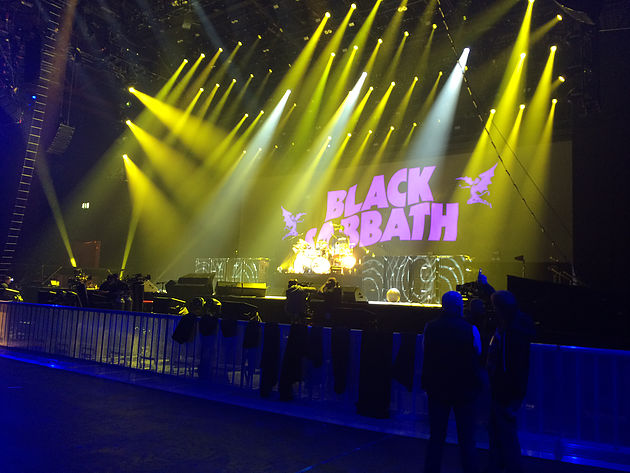 Mike's Team Hired MacBook Pros from the Mac Rental Company for Black Sabbath concert.