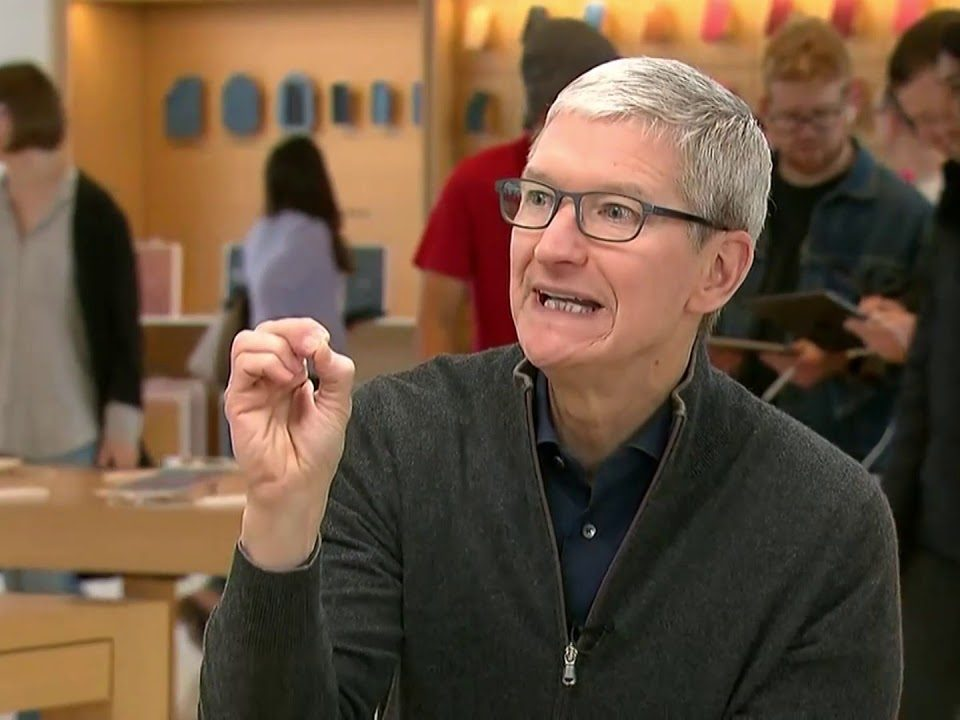 "Apple Tim Cook interview on ""MadMoney"""