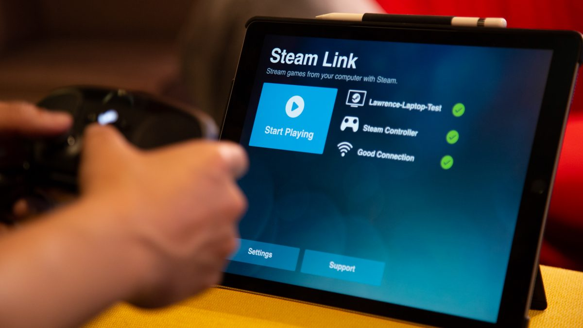 How to set up Steam Link on apple products