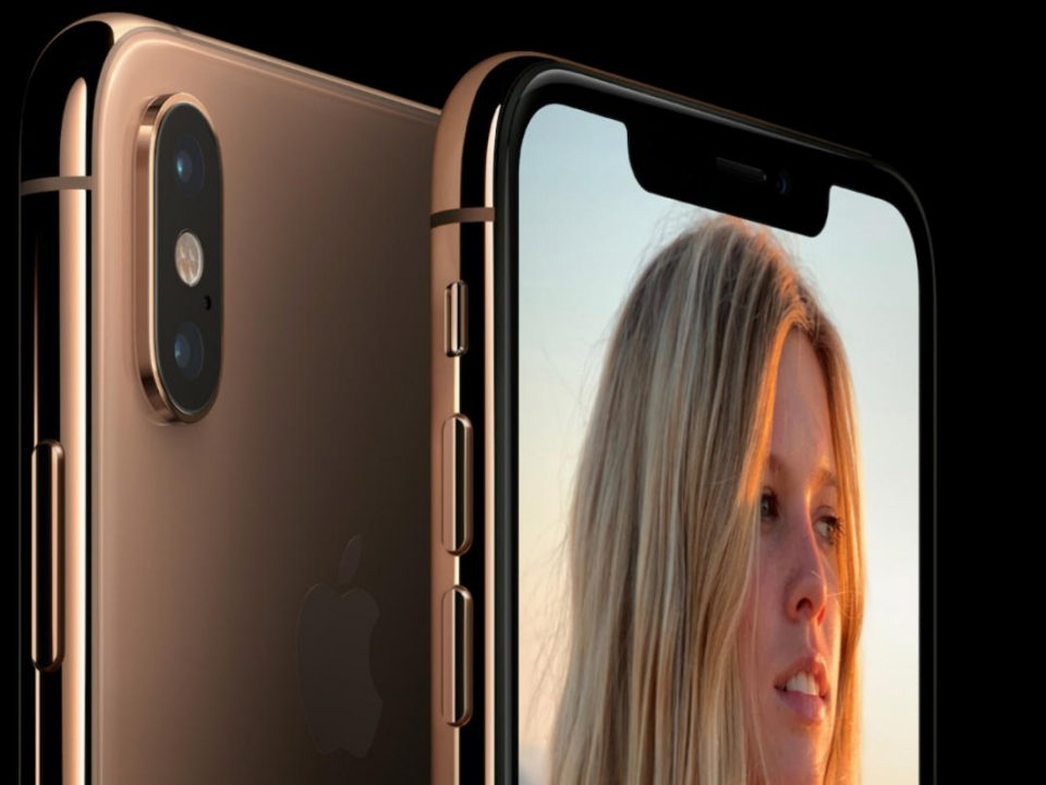 The iPhone X notch