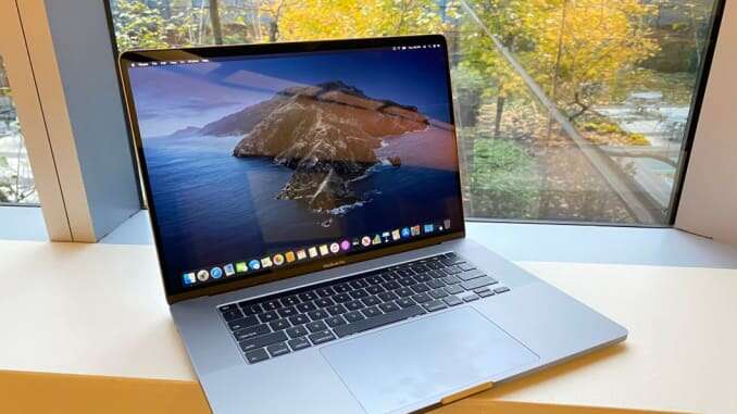 A device from the future Apple's Macbook Pro